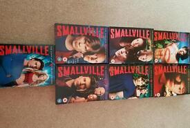 Smallville seasons 1-7