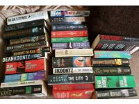 Dean Koontz book collection