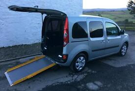 Renault Kangoo Wheelchair Accessible Vehicle WAV Disabled Mobility Scooter Car - 12 MTH WARRANTY!
