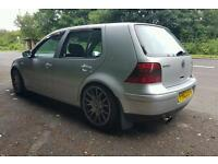 Vw golf 1.8 turbo 6 speed. nicely modified