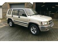 Isuzu Trooper 3.0 Diesel 4x4 Towbar Very Low Mileage!