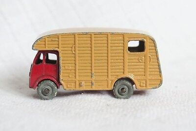 Marshall Horse Box Reproduction Box by DRRB Matchbox 1-75 #35a E.R.F