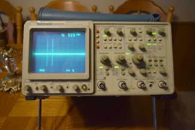Tektronix 2445b Four Channel Oscilloscope 150mhz Working