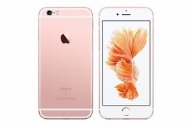 *Factory Unlocked - Very Good* Apple iPhone 6S Rose Gold 16GB LTE/4G latest iOS 10.2.1