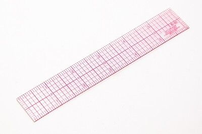 C-Thru 8ths Graph Beveled Transparent Rulers 1