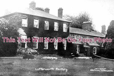 LC 764 - Lutterworth Rectory, Leicestershire c1918