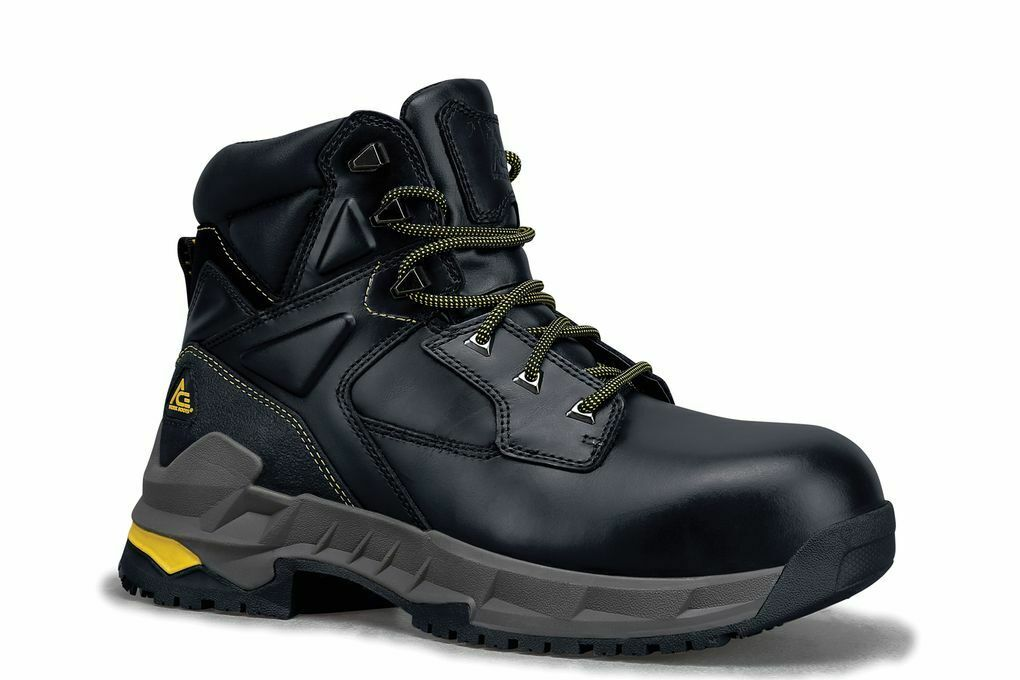 Ace Shoes for Crews Men's Burren Composite Toe Slip Resistan