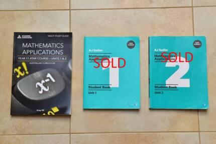 Year 11 ATAR Text Books