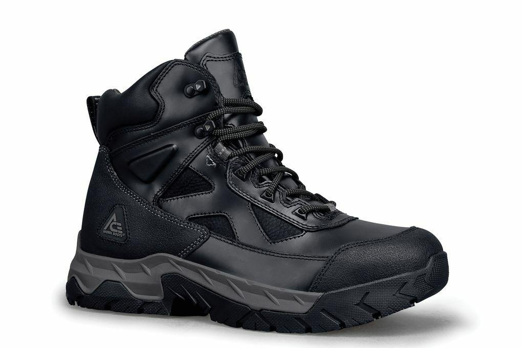 Ace Shoes for Crews Men's Glacier Steel Toe Slip Resistant L