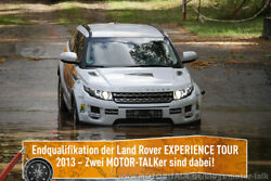 Land Rover Experience Tour Qualifikation