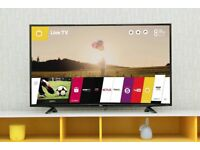 """LG 47"""" Smart WiFI Full HD led tv Freeview HD Youtube NetFlix Web OS excellent Condition"""