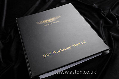 Workshop Manual for Aston Martin DB5