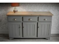 Solid Pine Sideboard / Dresser / Cabinet in Pristine Condition - Totally Immaculate