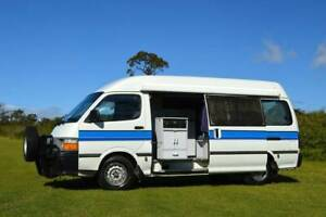 Toyota Discoverer Campervan with Rear Shower & Porta Potti Albion Park Rail Shellharbour Area Preview
