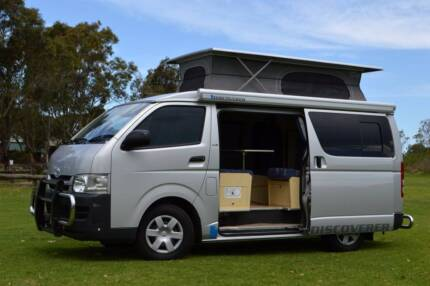 Toyota Automatic Diesel Discoverer Campervan - Immaculate!