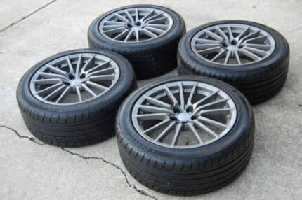 Subaru 2011 WRX Wheels