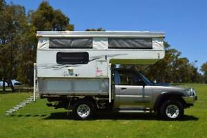 Nissan 4x4 Northstar Slide-on Camper Loaded with Features!