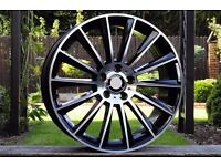 New 20 Inch Rims for Mercedes S Class AMG W222 style R20 set ET35 8.5J 5x112