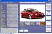 Car Maintenance Database Software - Computer Log Book for Windows Bardwell Park Rockdale Area Preview
