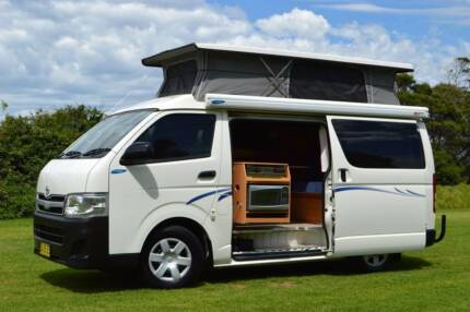 Toyota Frontline Automatic Diesel Campervan with Shower & Low Km!