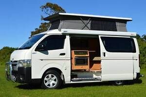 Toyota Frontline Auto Campervan with 4 Seats, Shower & Low Km! Albion Park Rail Shellharbour Area Preview