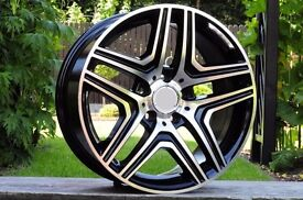 """New 22 inch Rims for Mercedes Benz G Class G63 G65 AMG 5x130 ET48 W463 style 22"""" UK delivery"""