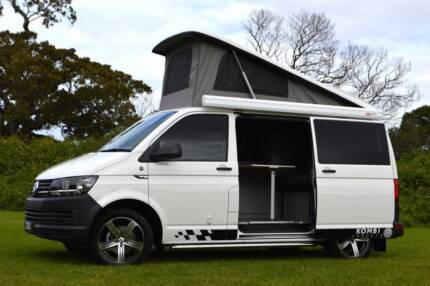 2016 VW Kombi Campervan Automatic with Solar charging and Low Km