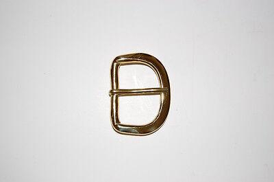 "1 3/4"" Solid Brass Belt Buckle."
