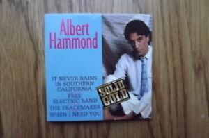 "FS: 1989 Albert Hammond ""It Never Rains In Southern California"" London Ontario image 3"