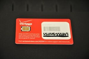 verizon iphone 4 sim card verizon 4g lte nano sim card brand new amp unregistered 18148