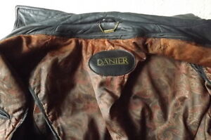 FS: Danier Black with Brown Trim Leather Jacket (Man's) London Ontario image 2