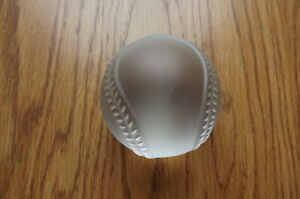 "FS: Royal Doulton Crystal ""Baseball"""