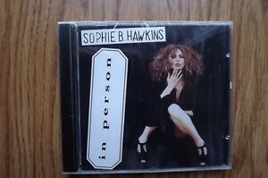 """FS: 1992 Sony Music Sophie B. Hawkins  """"in person"""" Promotional C"""