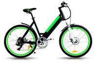 ELECTRIC BICYCLES OVER 25 IN STOCK