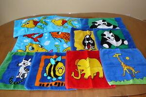 ensemble de serviettes pour enfant