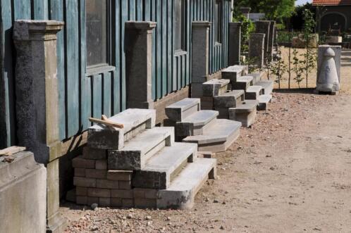 ≥ oude bouwmaterialen bij t achterhuis antiek bouwmateriaal