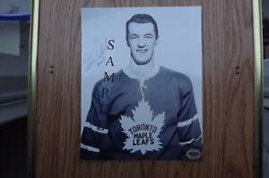 FS: Eddie Litzenberger (Toronto Maple Leafs) Autographed Photo London Ontario image 1