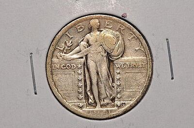 1921 STANDING LIBERTY SILVER QUARTER 25C