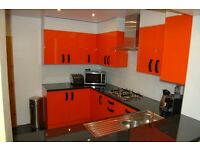 & & & Modern Kitchen and bespoke sliding doors wardrobes & & &