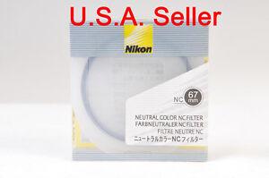 Nikon-67mm-NC-Neutral-Color-filter-UV-filter-brand-new