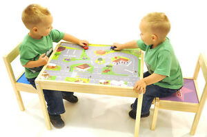childrens kids ikea table and chairs set ebay
