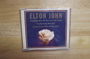 "FS: Elton John ""Candle In The Wind 1997"" 3-Track Commemorative C"