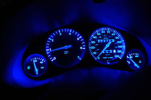 Commodore BRIGHT BLUE Dash Cluster Conversion VR VP VL VN VS .LED Blue Dash Kit