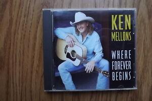 """FS: 1995 Sony Music: Ken Mellons """"Where Forever Begins"""" CD"""