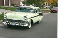 Bel Air/150/210 Wagon 1956 Chevrolet Nomad.