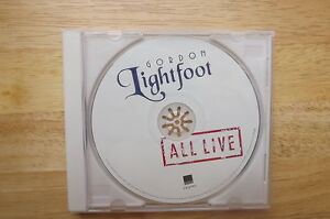 "FS: 2012 Wea Records ""Gordon Lightfoot: All Live"" CD"