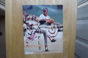 FS: Dave McNally (1971 World Series) Autographed Photo with COA London Ontario image 1