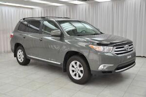 2013 Toyota Highlander 3.5L 7PASS 4x4 SUV w/ BLUETOOTH, 3-ZONE C