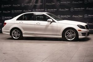 2014 Mercedes-Benz C300 4matic Sedan Dark Ash Wood Trim, Avantga
