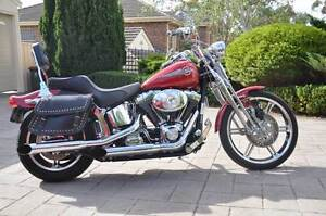 Rare Harley Davidson Custom Springer Softail Golden Grove Tea Tree Gully Area Preview